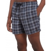 adidas 3-Stripes Check Swimming Short Heren - Zwart - Heren