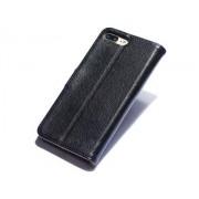 Premium Leather Wallet Case for iPhone 8 Plus/7 Plus - Apple Leather Wallet Case (Black)
