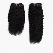 Rapunzel® Extensions Naturali Hair Weft Coily Curl 1.0 Black 35 cm