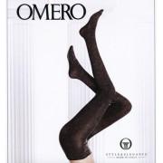 Exklusive blickdichte Strumpfhose mit Glanzeffekt Brillant von Omero, dunkelblau, Gr. S