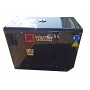 Warrior 12,5 kW tystgående elverk diesel