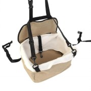 Portable Soft Safety Dog Cat Puppy Carrier Cage Car Booster Seat Travel Tote Storage Baskets