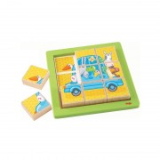 HABA® Puzzle d'assemblage Animaux Voyageurs HABA® - Puzzles