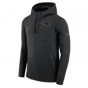 Sweatà capuche Nike Fly Fleece (NFL Ravens) pour Homme - Noir