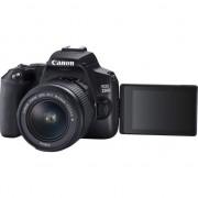 Aparat foto DSLR Canon EOS 250D, 24.1 MP, Wi-Fi, 4K, Negru + Obiectiv EF-S 18-55mm, f/3.5-5.6 III