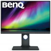 "Monitor IPS LED Benq 24.1"" SW240, 1920 x 1200, DVI, HDMI, DisplayPort, Pivot (Gri)"