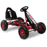 RIGO Kids Pedal Go Kart Car Ride On Toys Racing Bike Red [GKRT-F1C-RD]