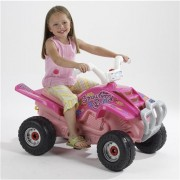 Atv cu Pedale Quad Strawberry