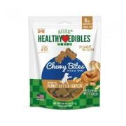 Nylabone Natural Healthy Edibles Peanut Butter Flavor Bites Dog Treats, 6-oz bag