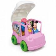 Clemmy - Autobuz Minnie Cu Cuburi.10 cuburi si 2 figurine
