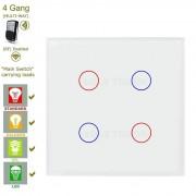 Сензорен ключ за осветление с дистанционно – 4 бутона (3 цвята)