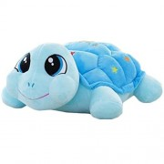 Lovely Little Turtle Doll Pillow Toy Girlfriend Birthday Doll Gift Sky Blue