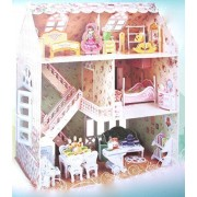 Puzzle, Doll House, Dreamy House, Girls Birthday Gift, Model 160 Pcs , 3d Puzzles, Lovers Gift For Girls Birthday