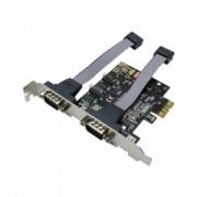 Card PCI-Express adaptor la 2 x RS232