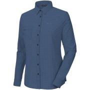 Salewa Puez Mini Check Dry overhemd en blouse lange mouwen Dames blauw 36 2017 Overhemden lange mouw