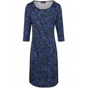 Looxent Jersey-Kleid 3/4-Arm Looxent blau Damen 44 blau