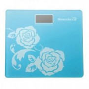 Cantar de baie Hausberg HB 6003 culoare bleu greutate maxima 150 kg
