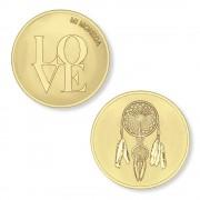 Mi Moneda MON-LOV-02 Love and Dreamcatcher goudkleurig (XS)