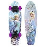 """Disney Frozen Kids 21"""" Complete Skateboard (Frozen Heart)"""