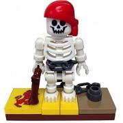 "MinifigurePacks: Lego® Pirates Bundle ""(1) CAPTURED PIRATE SKELETON"" ""(1) FIGURE DISPLAY BASE"" ""(2)"