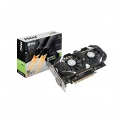 Tarjeta De Video NVIDIA MSI GeForce GTX 1050Ti 4GT OC, 4GB GDDR5, 1xHDMI, 1xDVI, 1xDisplayPort, PCI Express X16 3.0 GTX 1050 TI 4GT OC