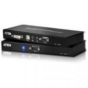 Aten Estensore KVM USB DVI Dual Link con Audio e RS-232 60m, CE602