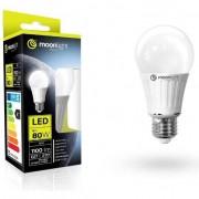 bec cu LED-uri E27 12W (80W) 1100lm, 3000K, caldura (ML-A60-12W-CB)