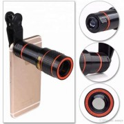 8X Zoom Mobile Phone Telescope Lens with Adjustable Clip