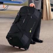 Ultraleichte XXL-Reisetasche, Schwarz