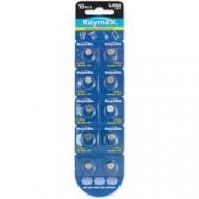 Raymax Batteries Batterie a bottone Alcalina LR54 LR1130 189 AG10 (set 10 pz)