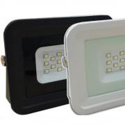 SMD LED reflektor (10W, 2700-6500K) fehér és fekete