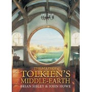 The Maps of Tolkien's Middle-Earth, Hardcover/Brian Sibley