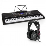 SCHUBERT Etude 225 USB tastatură de învățare cu 61 de taste ecran LCD USB Headset (PL-30883-31457)