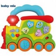 Jucarie muzicala Baby Mix Trenulet 18+ luni