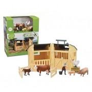 Set de Joaca Hambar cu figurine fermier si animale - Collecta