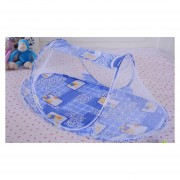 Mosquiteros De Plegables Portátiles Tipo De Barco Para Bebé - Azul
