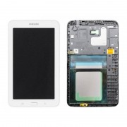 Samsung Galaxy Tab 3 7.0 Display Assy w/ Front Cover - White voor Samsung Galaxy Tab 3 7.0 Lite SM-T113