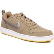 Nike Men's Court Borough Low Black Sports Shoes