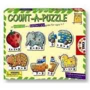 Educa Borras Fun and Learn 60 Piece Puzzle-Count A Puzzle