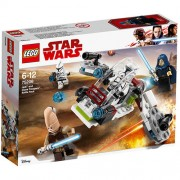 Set de constructie LEGO Star Wars Pachet de Lupta Jedi si Clone Troopers