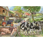 Puzzle The House of Puzzles - Oak Tree Farm, 500 piese XXL (56786)