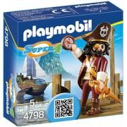 Playmobil Super 4, Piratul cu barba