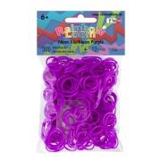 Rainbow Loom elastice pentru copii neon 20242 mov
