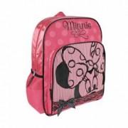 Ghiozdan pentru scoala Minnie Mouse dantela