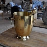Seau à champagne vieux cuivre D: 24 cm