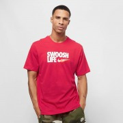Nike Core Tee - Rood - Size: Extra Large; male