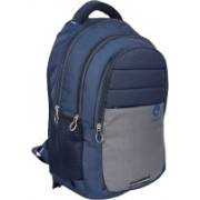 CRAFTLY Men & Women 18 Inch Laptop Bag With Rain Cover 40 L 40 L Backpack(Blue, Grey)