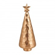 Xenos Kerstboom deco goud - 26cm