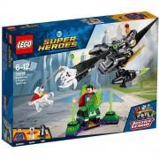 Set de constructie LEGO Super Heroes Alianta Superman si Krypto