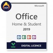 Microsoft Office 2019 Home and Student - Licencia digital transferible - Software para descargar